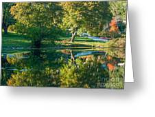 Autumns Beauty Greeting Card by Optical Playground By MP Ray