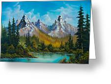 Autumn's Magnificence Greeting Card by C Steele