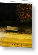 Autumn's Nocturnal Solace Greeting Card by Guy Ricketts