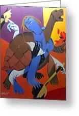 Avatar Series-kurma Greeting Card by Chinmaya BR