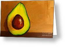 Avocado Palta Vi Greeting Card by Patricia Awapara