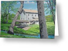 Award-winning Painting Of Beckman's Mill Greeting Card by Norm Starks