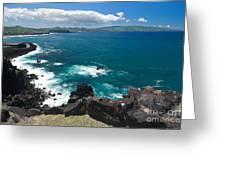 Azores Islands Ocean Greeting Card by Gaspar Avila