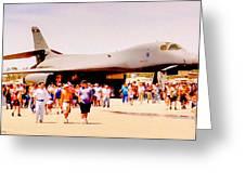 B1 Lancer El Toro Marine Base California Greeting Card by Bob and Nadine Johnston