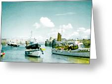 Back In The Olden Days Greeting Card by Steve Taylor