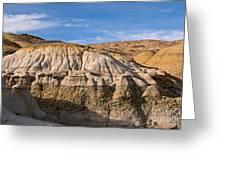 Badlands Erosion Greeting Card by Vivian Christopher
