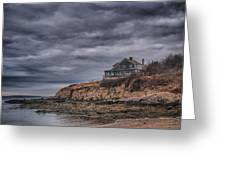Bailey's Island 14342c Greeting Card by Guy Whiteley