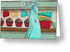 Baking Day Greeting Card by Catherine Holman
