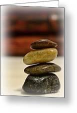 Balanced Greeting Card by Paul Ward