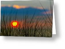 Ball Of Fire Greeting Card by Sebastian Musial