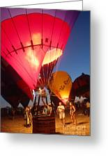 Balloon-glow-7831 Greeting Card by Gary Gingrich Galleries