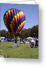 Balloon Rides Greeting Card by Lee Hartsell