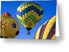 Ballooning Greeting Card by Garry Gay