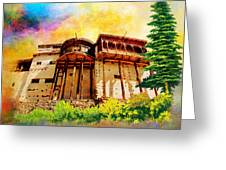 Baltit Fort Greeting Card by Catf