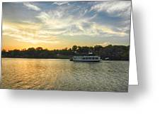 Bama Belle Sunset Greeting Card by Ben Shields