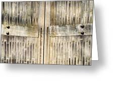 Bamboo Gates Greeting Card by Alexander Senin