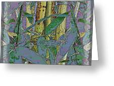 Bamboo Study 9 Greeting Card by Tim Allen