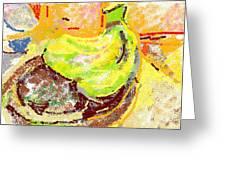 Bananas from Paphos 2 Greeting Card by Anita Dale Livaditis