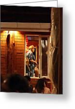 Band At Palaad Tawanron Restaurant - Chiang Mai Thailand - 01138 Greeting Card by DC Photographer