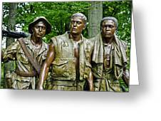 Band Of Brothers Greeting Card by Christi Kraft