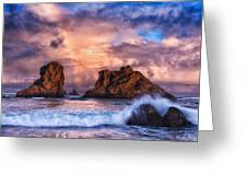 Bandon Beauty Greeting Card by Darren  White
