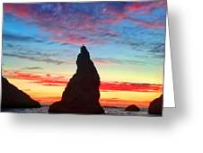 Bandon Clouds Greeting Card by Darren  White