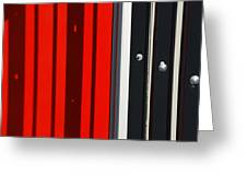 Bar Code Greeting Card by Wendy Wilton