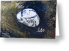 Barack Obama Pluto Greeting Card by Augusta Stylianou
