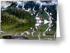 Baranof Lake Greeting Card by Robert Bales