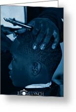 Barbershop  Art Greeting Card by Jerome Lynch