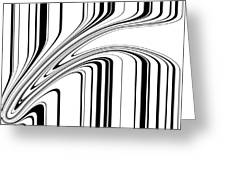 Barcode II  C2014 Greeting Card by Paul Ashby