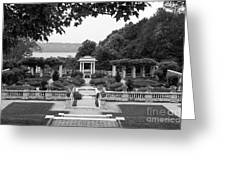 Bard College Blithewood Garden Greeting Card by University Icons