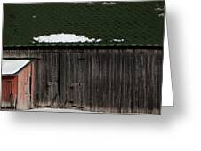 Barn Parts 10 Greeting Card by Mary Bedy