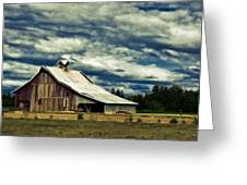 Barn Greeting Card by Steve McKinzie