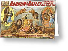 Barnum & Bailey�s  1915 1910s Usa Greeting Card by The Advertising Archives