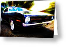 Barracuda Bliss Greeting Card by Phil 'motography' Clark