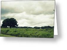 Bartow Highway Greeting Card by Laurie Perry