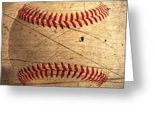 Baseball Greeting Card by M and L Creations