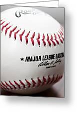 Baseball Greeting Card by Ricky Barnard