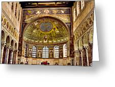 Basilica Di Sant'apollinare Nuovo - Ravenna Italy Greeting Card by Jon Berghoff
