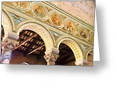 Basilica - Ravenna Italy Greeting Card by Jon Berghoff