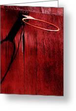 Basketball Hoop Greeting Card by Lane Erickson