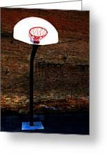 Basketball Greeting Card by Lane Erickson