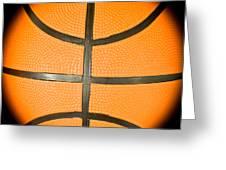 Basketball Greeting Card by Tom Gowanlock