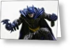 Batman - The Joker's Dream Greeting Card by Lee Dos Santos