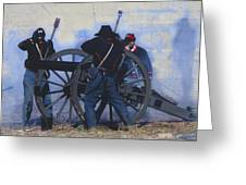 Battle Of Franklin - 1 Greeting Card by Kae Cheatham