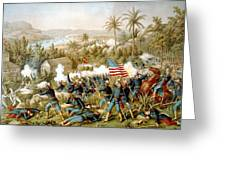 Battle Of Qusimas Greeting Card by Kurz and Allison
