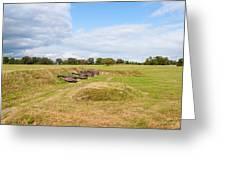 Battle of Yorktown Battlefield Greeting Card by John Bailey