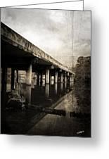 Bay View Bridge Greeting Card by Scott Pellegrin