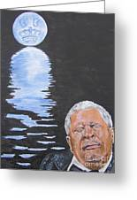 Bb King Painting Greeting Card by Jeepee Aero